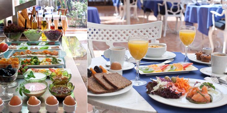 Galera Beach Desayuno y cena